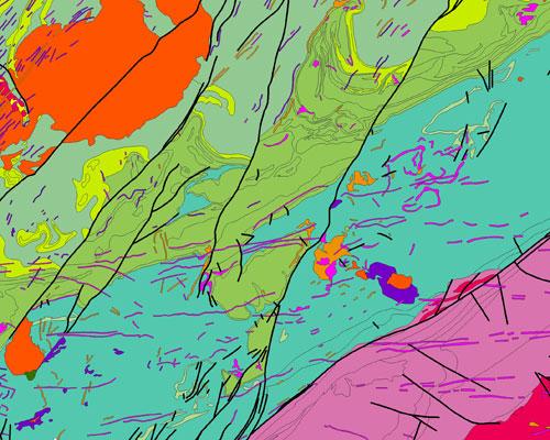 BGS Geology 250k sample