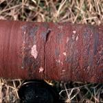 Permian sandstone/breccia core sample