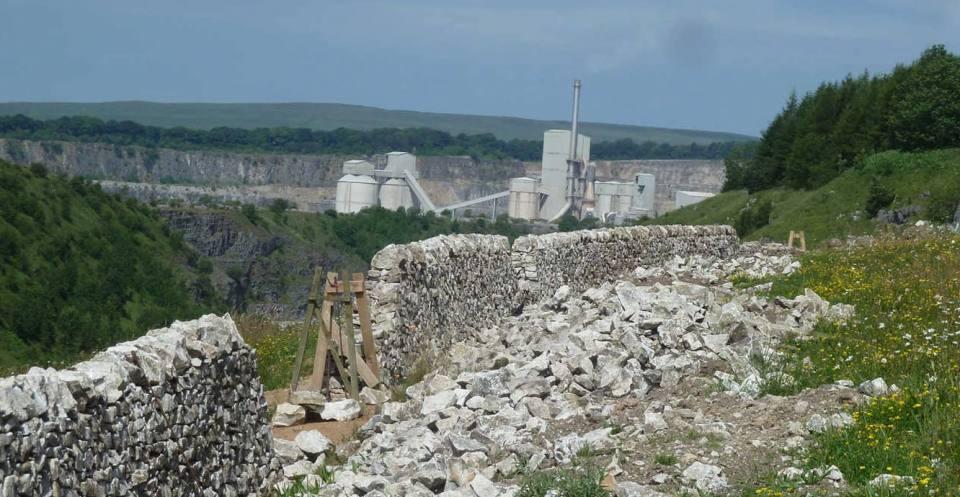 Limestone quarry, Buxton