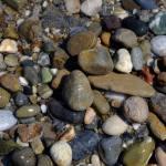 Pebbles on Rethymno's Beach