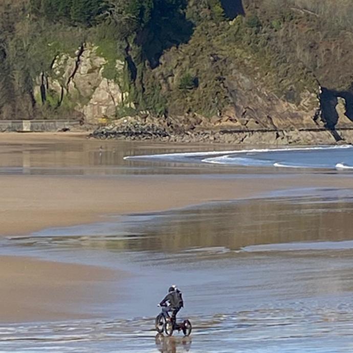 Pegasus backpack, Wales