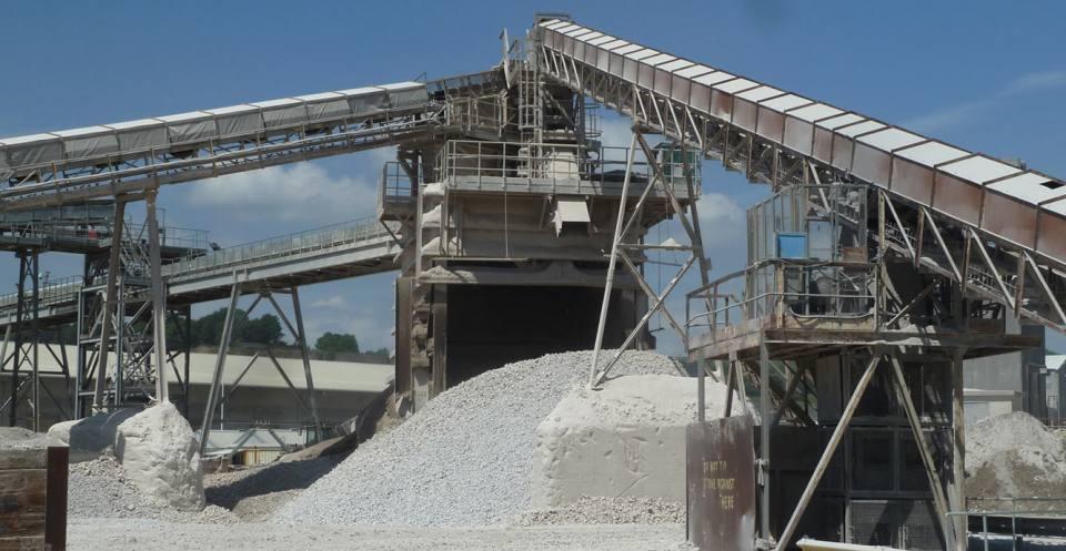 Limestone Quarry - Tunstead