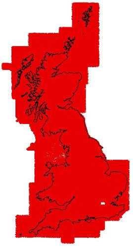 UK Aeromagnetic Map