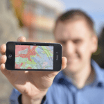 BGS iGeology app in action
