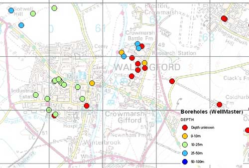 WellMaster Hydrogeological Database sample