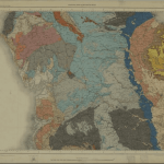 Quarter-inch geological map of England and Wales