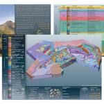 The North Wales geological visualisation model.