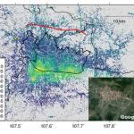 Ground subsidence across Bandung