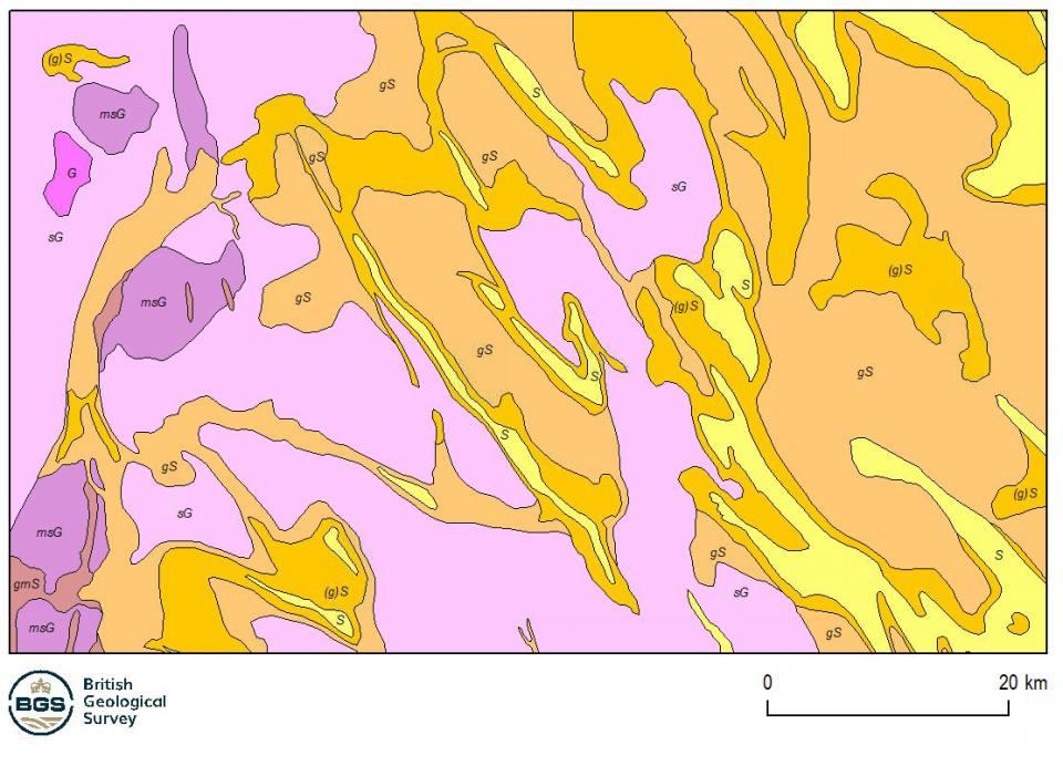 Marine sediments 250K dataset sample map