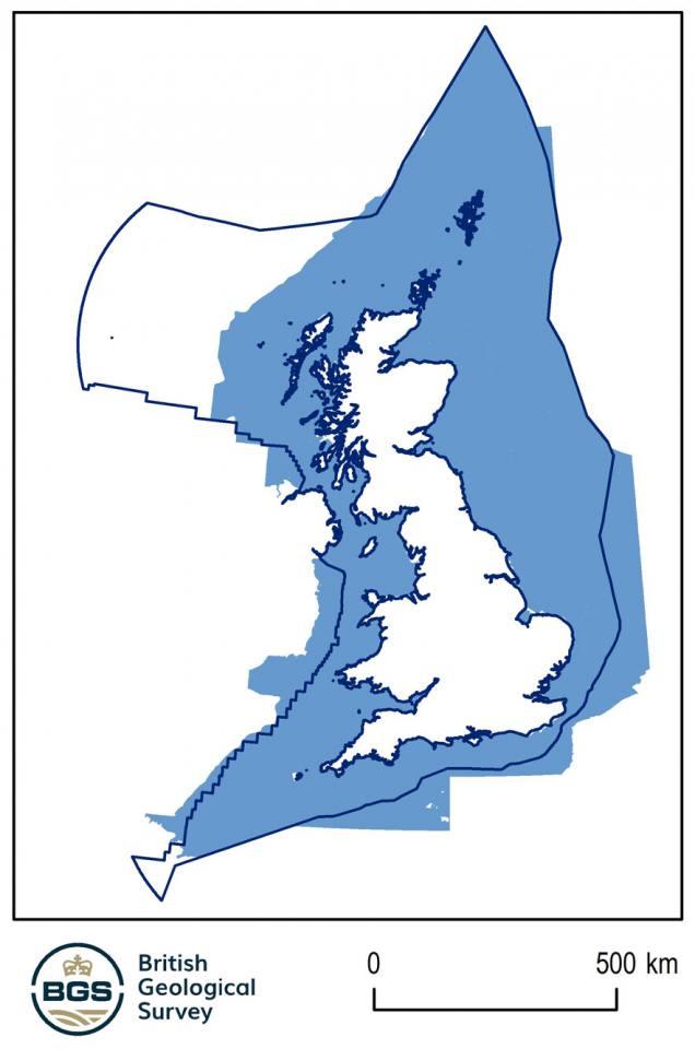 UK coverage of Marine Sediments 250K dataset