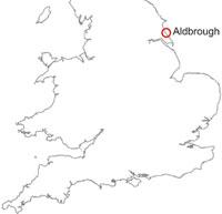 Aldbrough location map