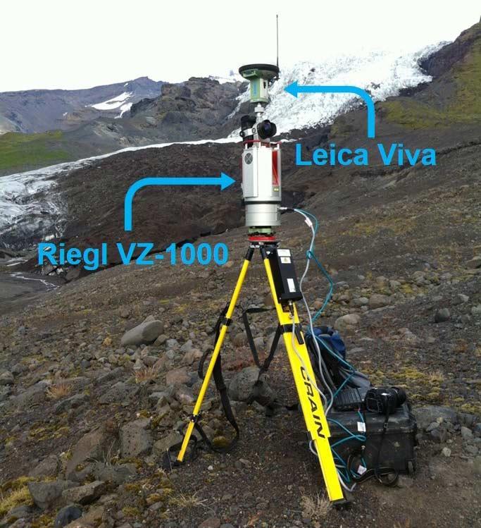 Riegl VZ-1000 terrestrial LiDAR scanner