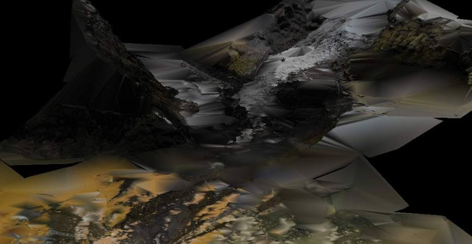 Virtual Outcrop Model of Falljökull glacier