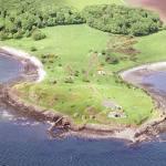 Charleshill Peninsula, Braefoot Bay, South Fife.