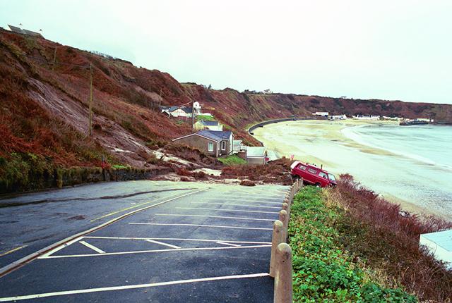 The 2001 Nefyn landslide.