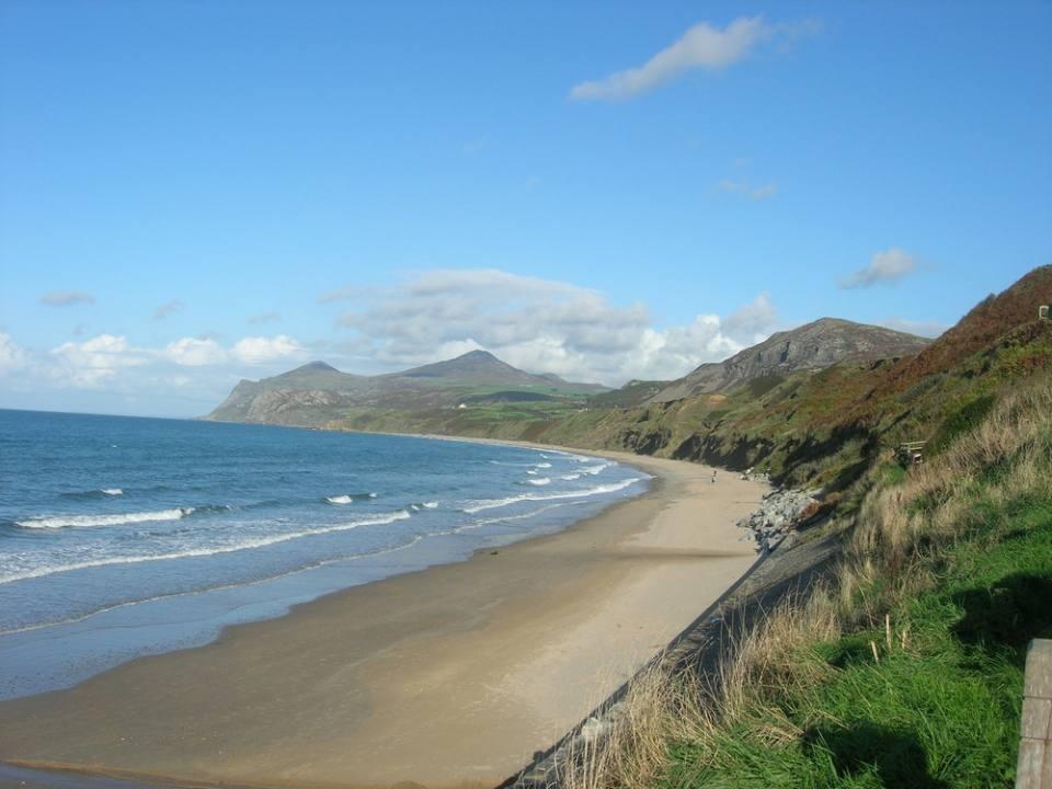 View across Nefyn Bay.