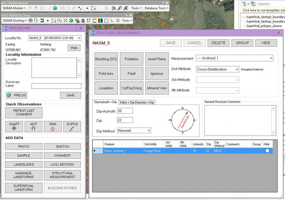BGS SIGMA interface