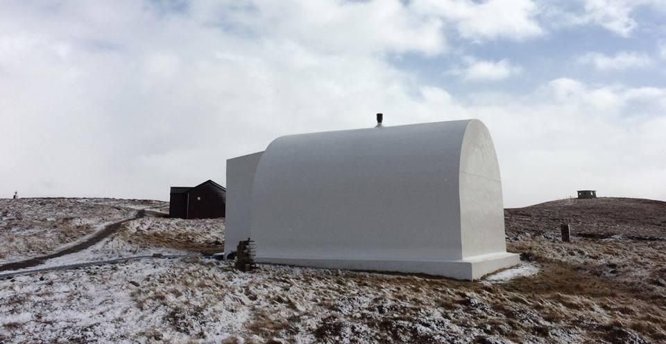 Lerwick magnetic observatory.
