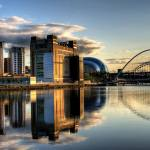 Newcastle Quayside by Wilka Hudson