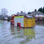 Climate change brings with it an increase in flooding events in the UK.