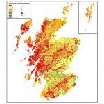 Groundwater vulnerability in Scotland