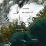 Grimsvötn volcano ash plume 1996