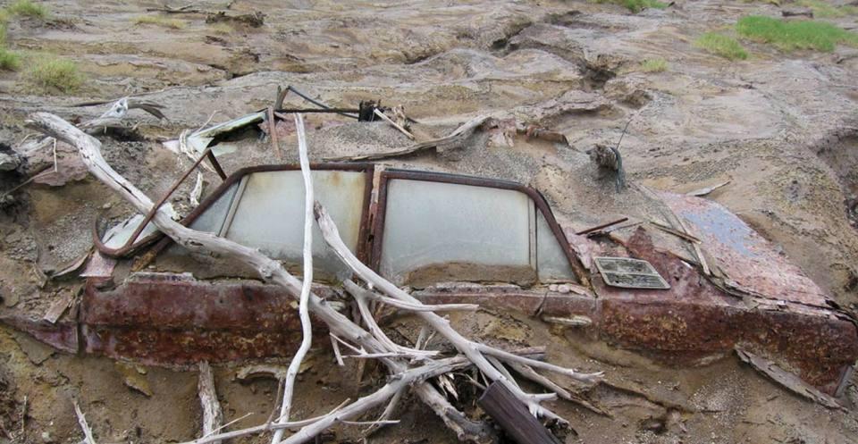 Lahar car Plymouth, Monserrat