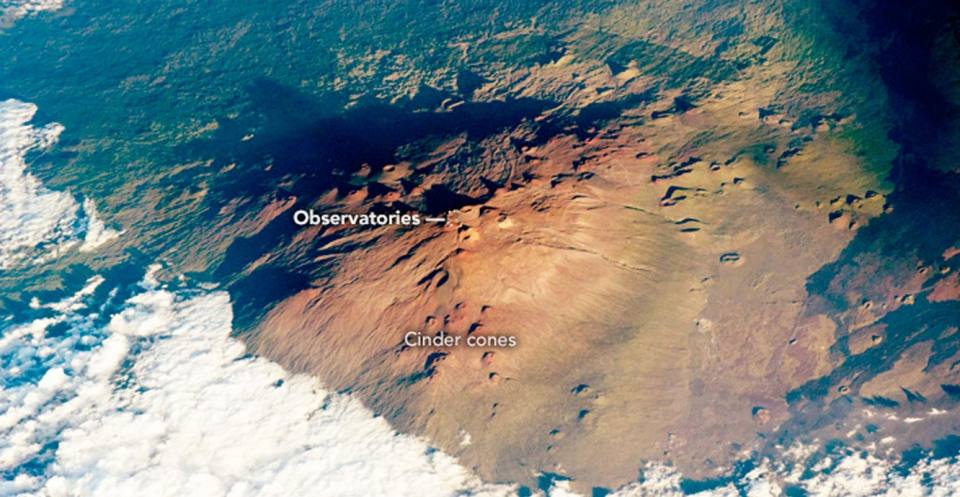 Mauna Loa Volcano observatory