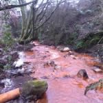 Nantyffyllon mine water discharge