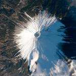 Mt Fuji, Japan from space