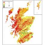 Groundwater vulnerabliity in Scotlan
