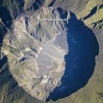 Mount Tambora crater