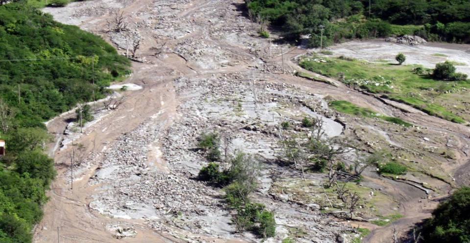 Lahar (mudflow), Montserrat