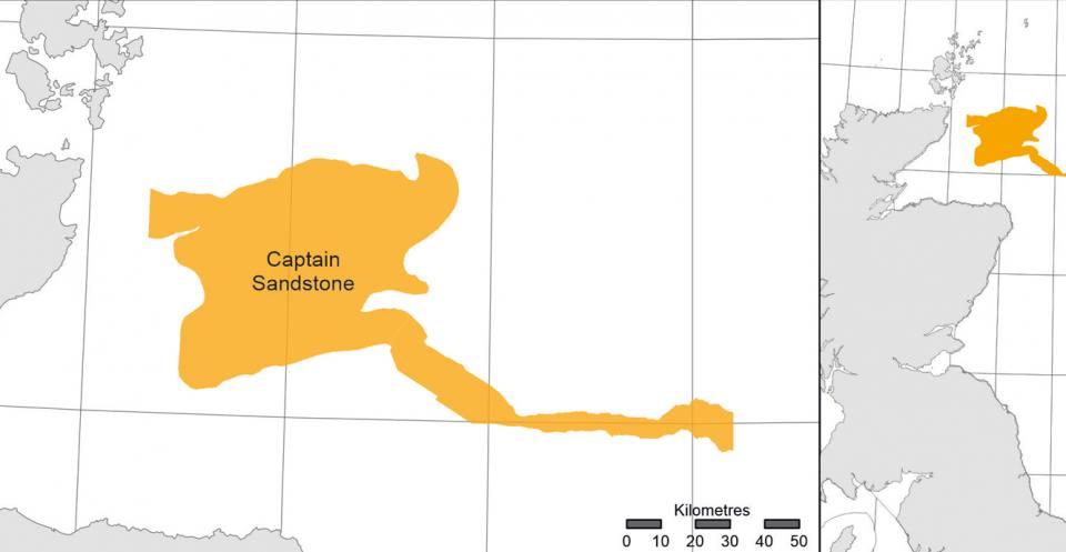 Captain Sandstone North Sea