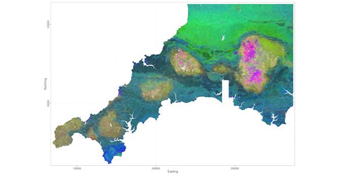 Regression tree for Cornwall - Devon