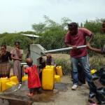 A community in Ethiopia accessing groundwater. British Geological Survey©UKRI