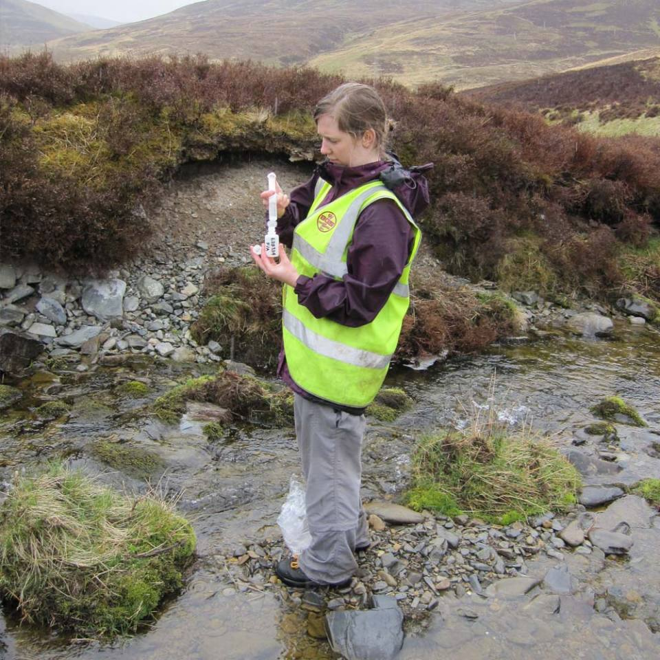 Water sample collection