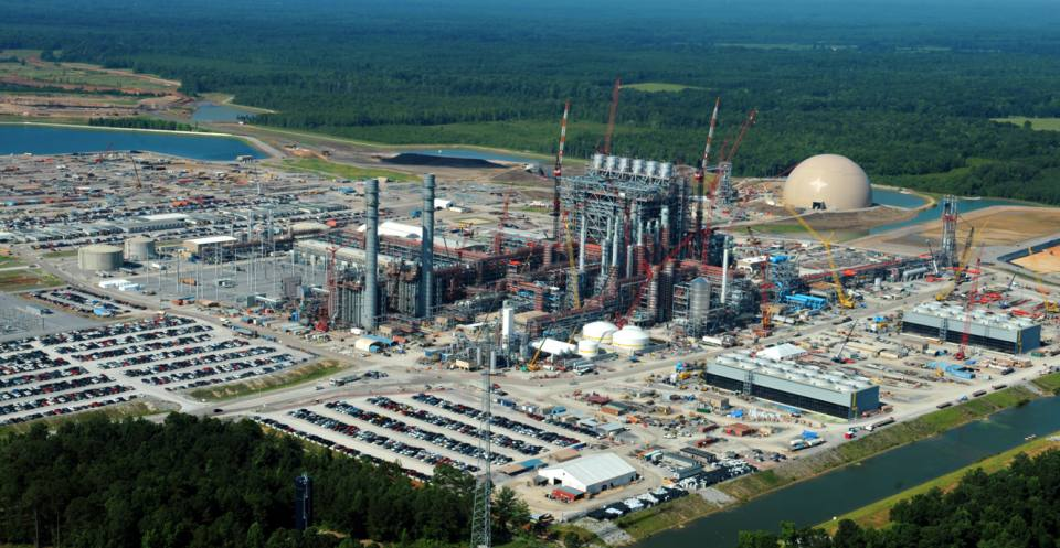 Kemper County Coal Gasification Plant.