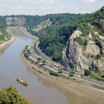 Avon Gorge at Clifton. Looking north.