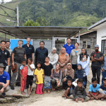 Participants of the Malaysian ODA Geological Ground Mapping visit, Sungai Tiang