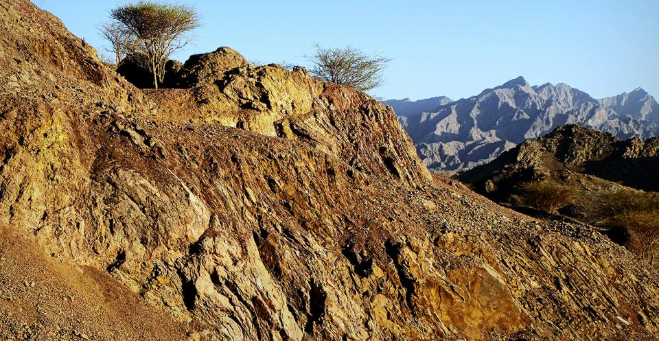 In mineral storage, captured CO2 is reacted with naturally occurring Mg- and Ca-containing minerals which occur commonly in ophiolite rocks like those in Oman.