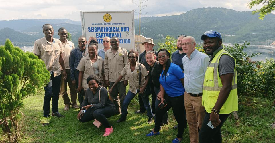 BGS and Ghanaian staff team photo
