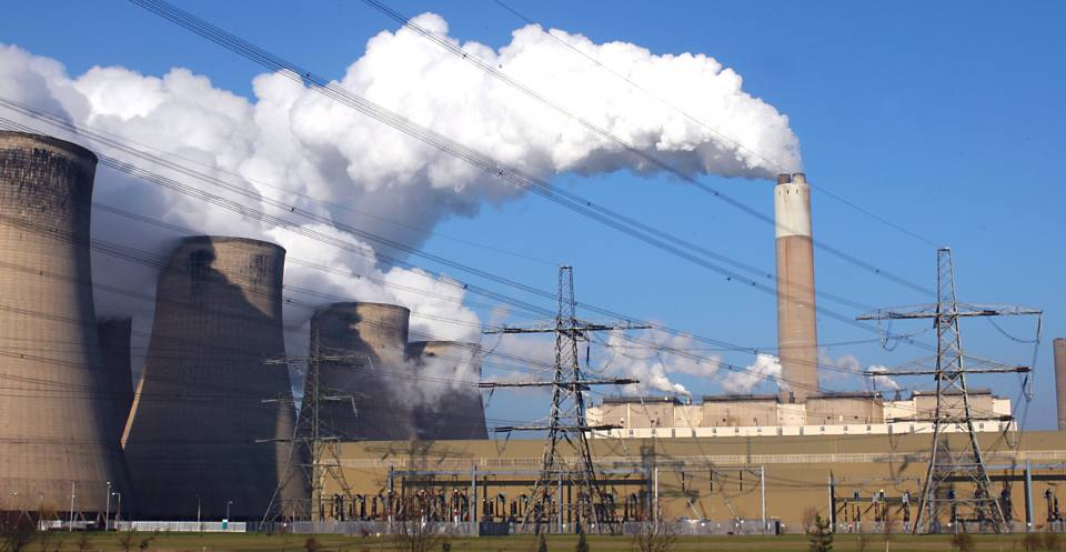 Ratcliffe upon Soar Power Station.