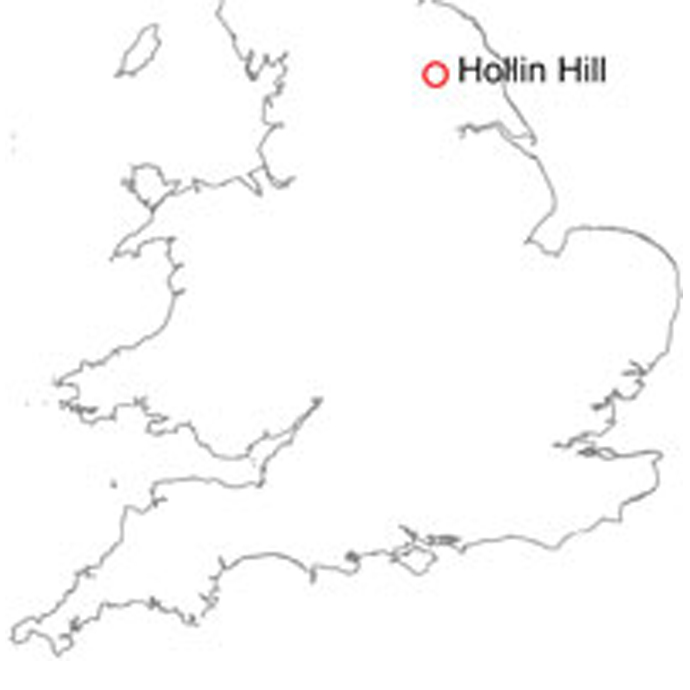 Hollin Hill location