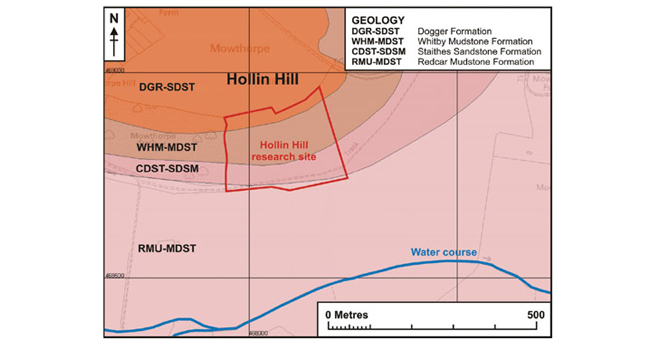 Hollin Hill Geology