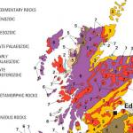 Colour in Geology map