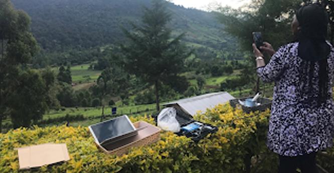 Sampling Nandi Hills