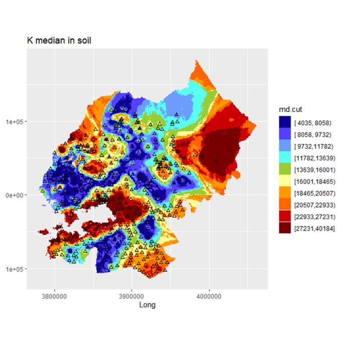 Soil Geochemistry Potassium