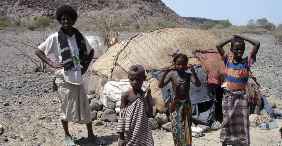Nomadic farmers Ethiopia