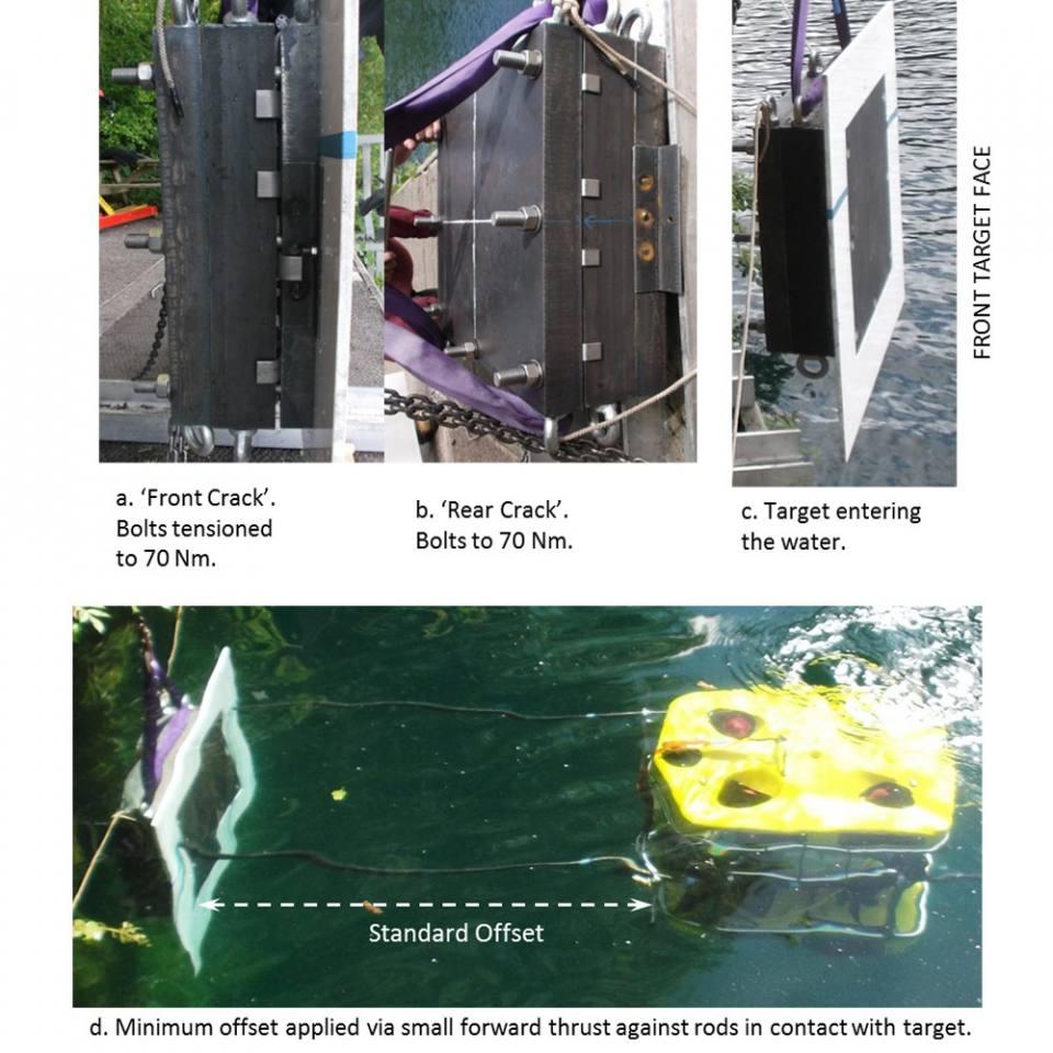 Field trials of ROV